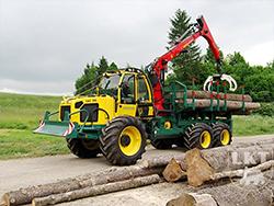 Logging tractors