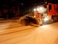 întreținere rutieră de iarnă