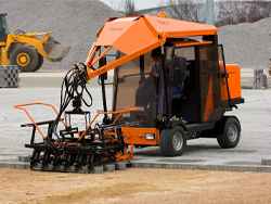 Paver laying machines
