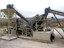 Crushing and screening instalations