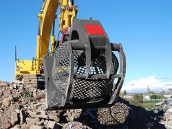 SR rotary bucket