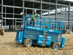 RT rough terrain scissor lifts