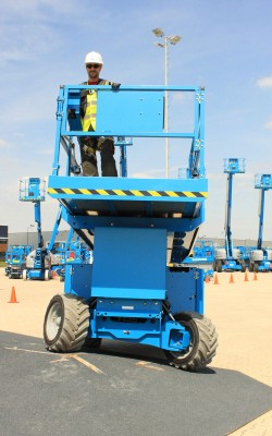 GS models self-propelled electric scissor lifts