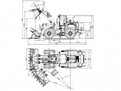 XCMG Wheel loader LW1100KN