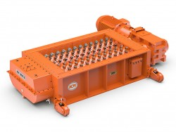 Surface crushing and conveying equipment