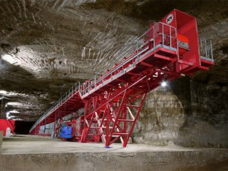 Underground crushing and conveying equipment