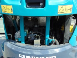 Мини багер SUNWARD SWE25FU
