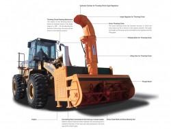 Snow blower for wheel loader YDSB2800