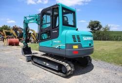 Compact Excavator SUNWARD SWE60B