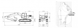 Верижен багер SWE210B