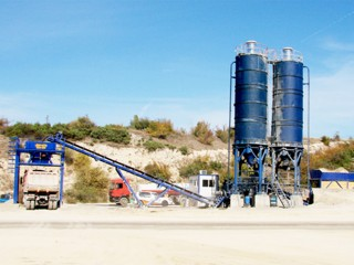 Stabilized soil plant mixing equipment