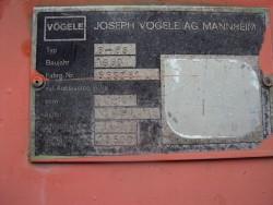 Асфалтополагач Vogele 1500 6-63