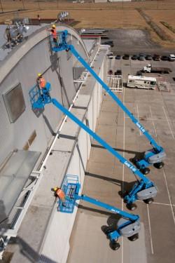 Дизелова телескопична вишка Genie S-40 XC / S-40 TraX