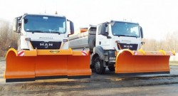 HYDROG PS-3000 and PS-3200 Multi-segment snowploughs