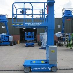 Компактна вертикална мачтова платформа Genie GRC-12