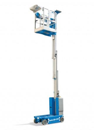 Компактна вертикална мачтова платформа Genie QS-20