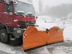 V type snowploughs