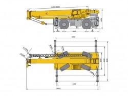 Високопроходим кран XCMG RT120E