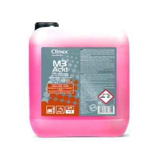 M3 Acid Киселинна формула за ежедневно почистване на санитарните помещения.
