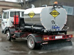 Bitumen emulsion sprayer SR KOMPAKT