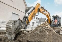 Compact excavator SANY SY135C