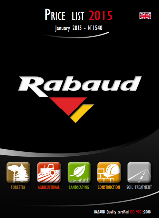 Rabaud Product Catalog