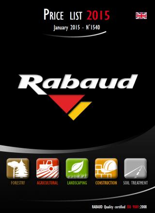 Rabaud Product Catalog