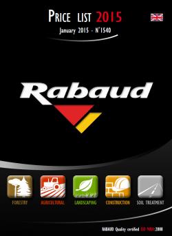 Каталог Rabaud