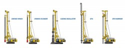 Rotary drilling rig XCMG XR240E
