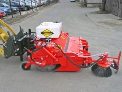 2-function sweeper HYDROG OKP Duo