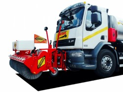 HYDROG OCN Side sweepers for road sweepeng and snow cleaning