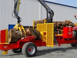 Хоризонтална цепачка за дървен материал RABAUD F40 HORIZONTAL