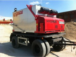 Термо контейнери за асфалт със захранващ шнек