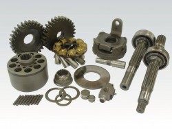 Spare parts for construction machines